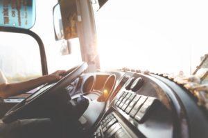 tanker truck interior