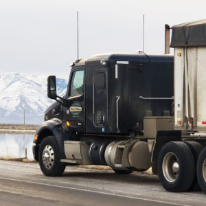 New Peterbilt with Double Hopper near Salt Lake City